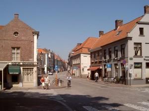 Brugge Straatzicht Katelijnestraat