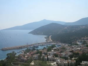 Kalkan Habour View From The Main Road